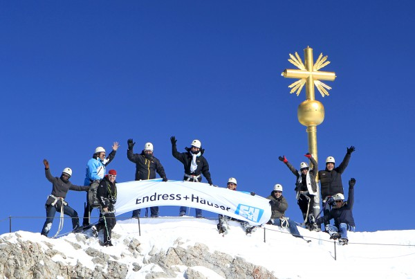 Gipfelglück Zugspitze