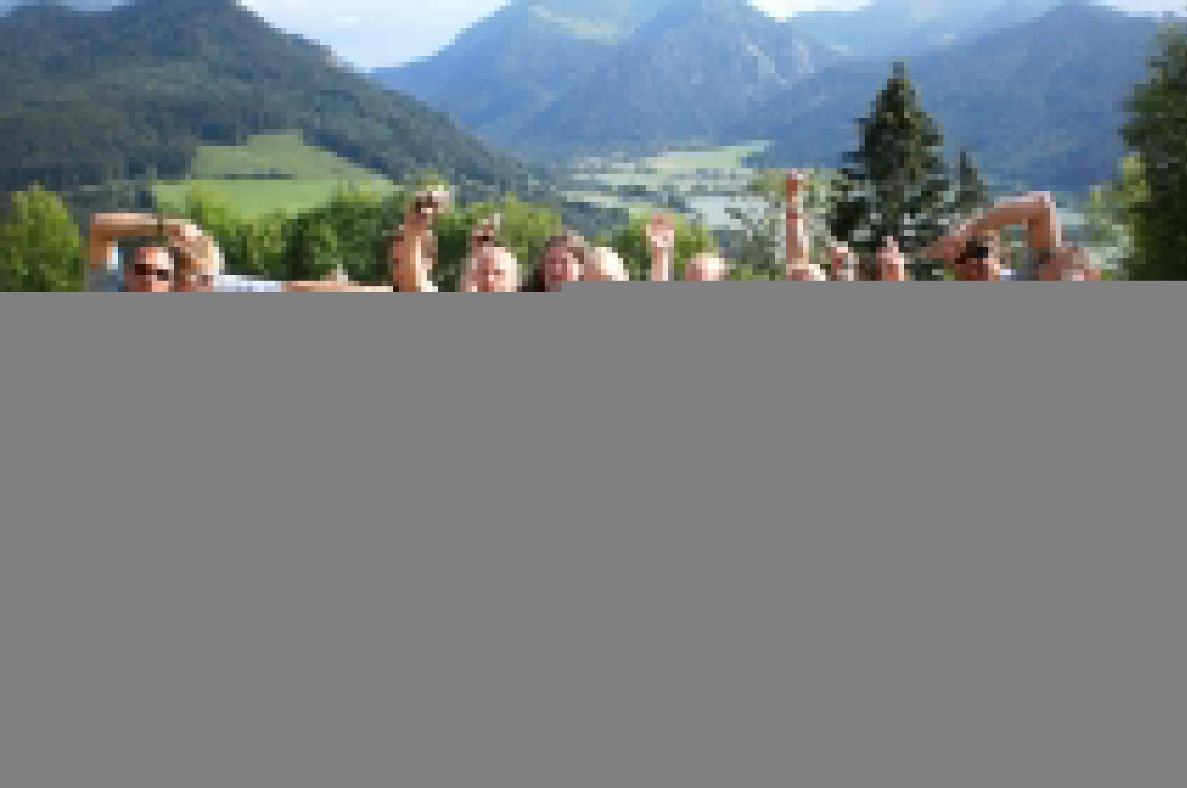 Berg rallye als teamevent