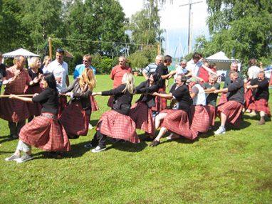 Teamevent im Schottenrock