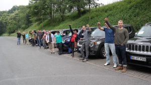 Jeep Rallye als Teamevent