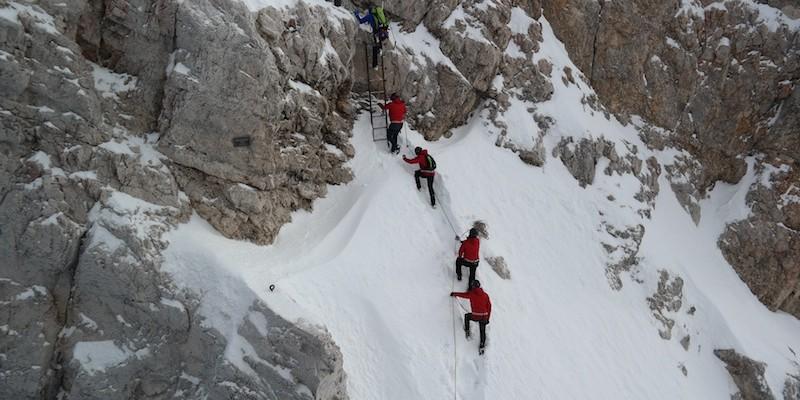 Teamevents auf der Zugspitze