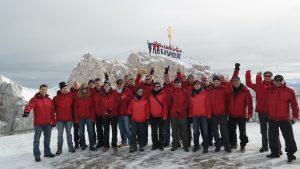 Gipfelglück als teamevent