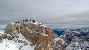 Gipfelbesteigung als Teamevent