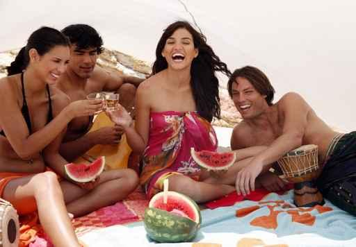 Sommerfest als Beach Party