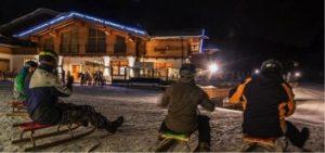 Nachtrodeln Weihnachtsfeier