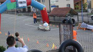 Ziel Seifenkistenrennen