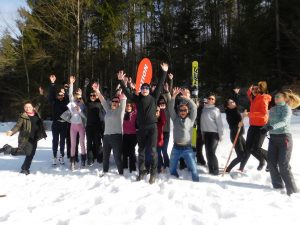 Teamevent Winter