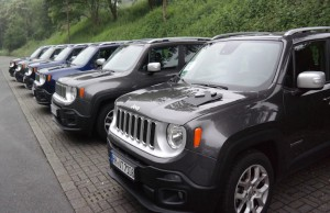 Jeep Rallye als teamevent