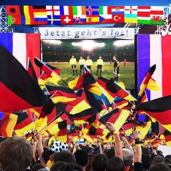 Fußball Europa 2016 Public Viewing
