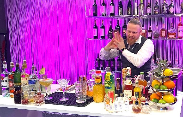 virtuelles Cocktail-Event